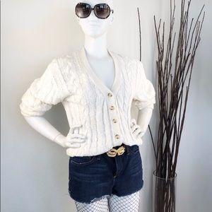 Adrianna Papell | Vintage Heavy Knit Cardigan